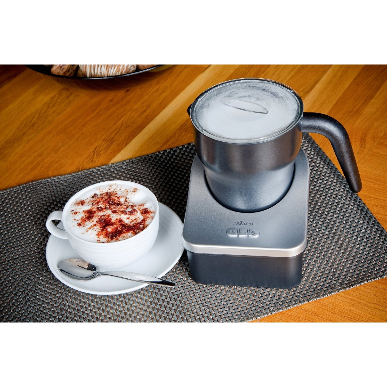 how to make hot chocolate with dualit milk frother