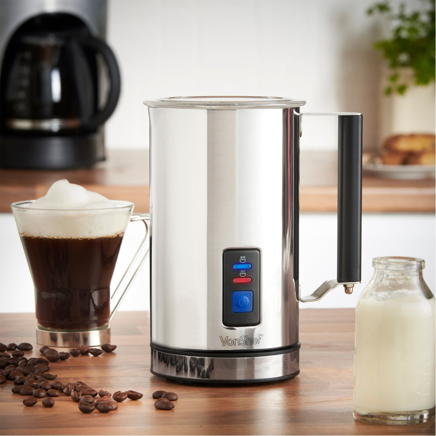 VonShef Premium Electric Milk Frother Review