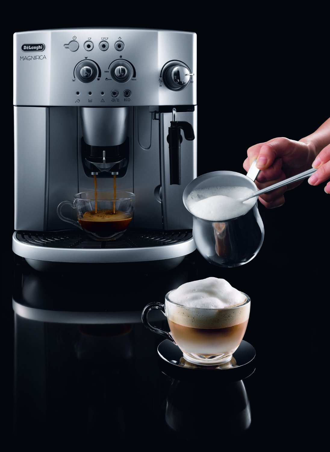 Coffee Cappuccino Maker ~ Delonghi magnifica esam bean to cup review