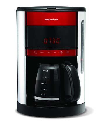 Morphy Richards Purple Coffee Maker : Morphy Richards Accents Coffee Maker Review