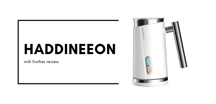 haddineeon milk frother review
