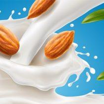 vegan milk splash