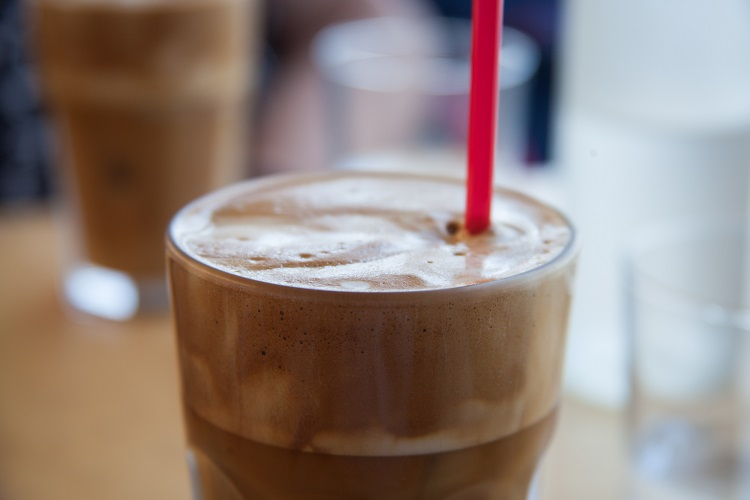 frappe iced coffee