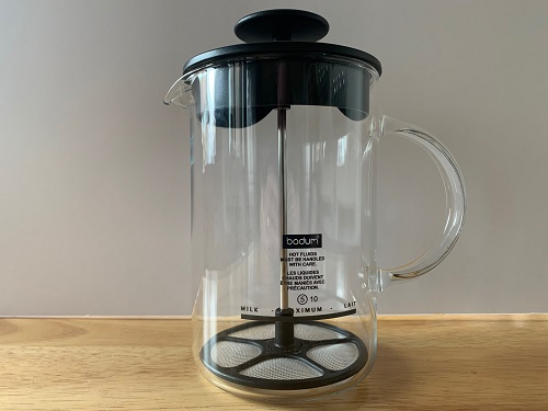 the latteo milk frother