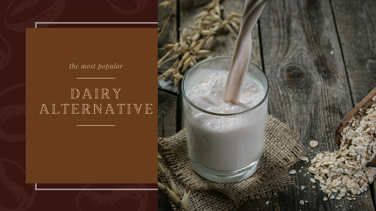 oat milk a dairy alternative to use with milk frothers