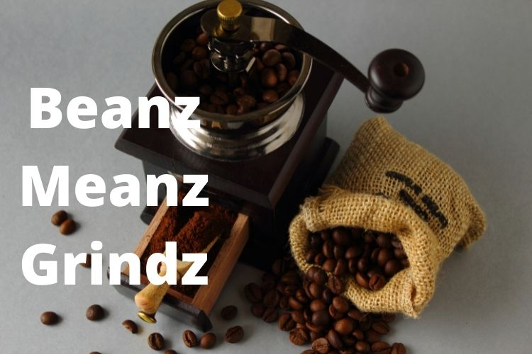 grinding coffee beans at home